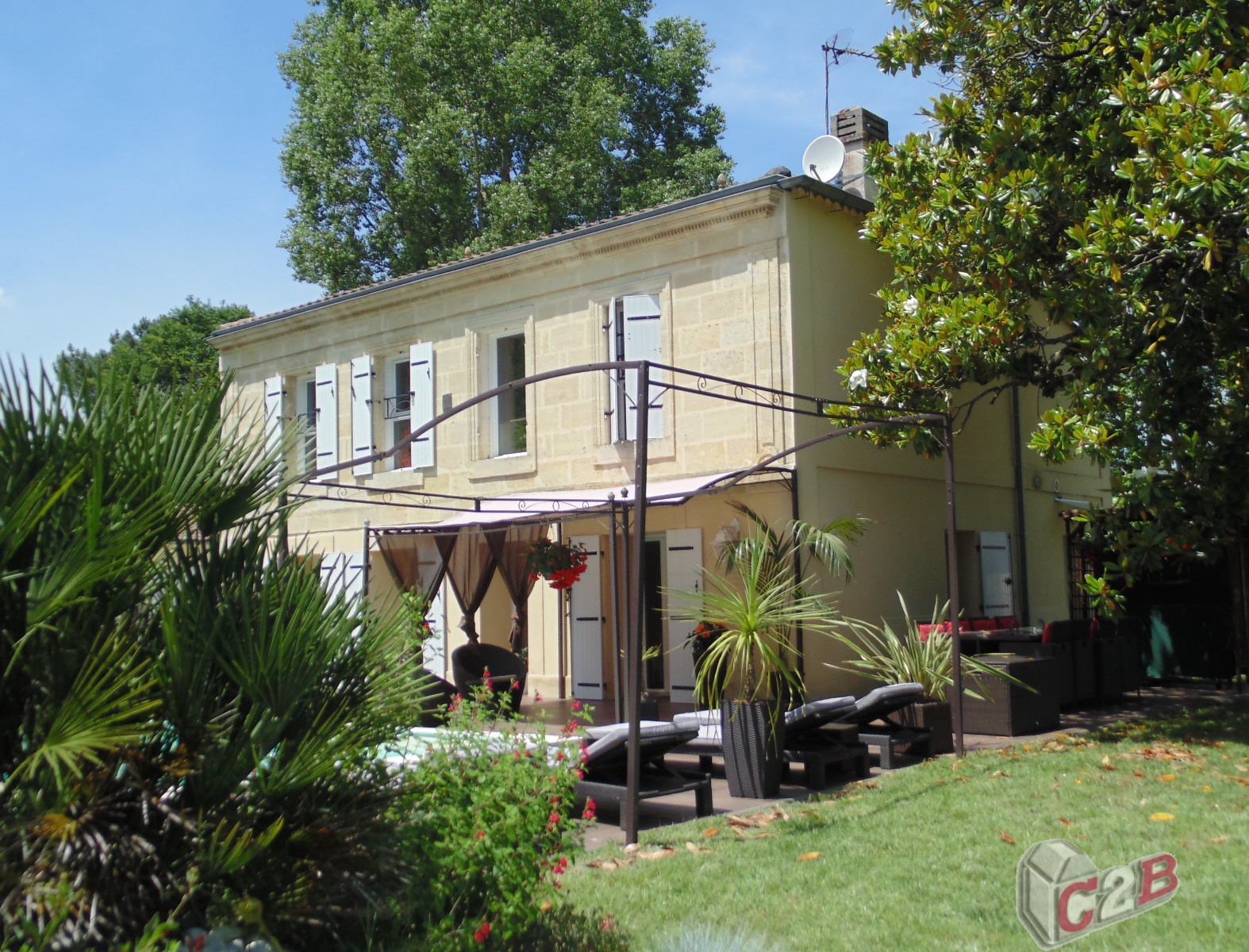C2b immobilier la br de l ognan beautiran et environs for Location appartement yverdon et environs